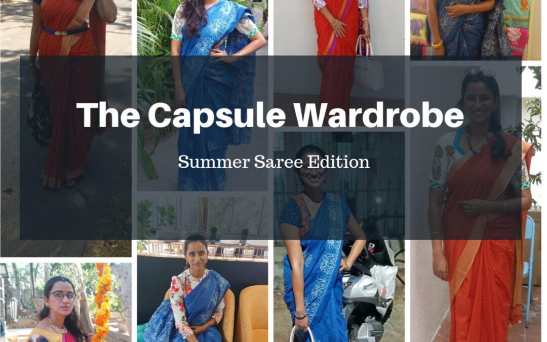 Capsule Wardrobe Collection: Summer Saree Edition